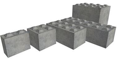 nowoczesne bloki betonowe